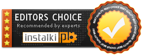 Rated 'Editors Choice' on Instalki