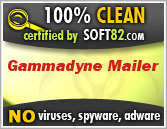 Certified malware free by Soft82