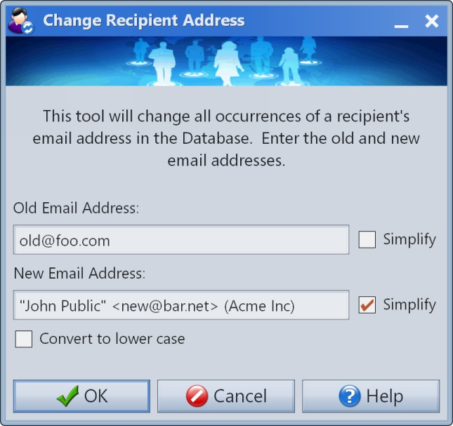 Change Email Address
