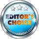 Awarded Editor's Choice on DownloadAtlas