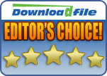 Rated 'Editors Choice' on DownloadFile