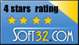 Rated 4 Stars on Soft32