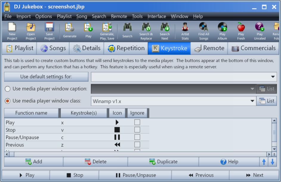 DJ Jukebox Screenshots