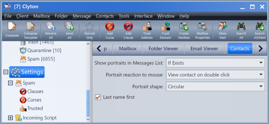 Email Client Screen Shot #9 | Clyton